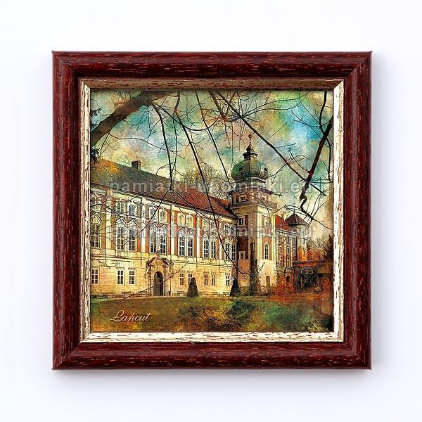 Obrazek Łańcut Zamek jesienią