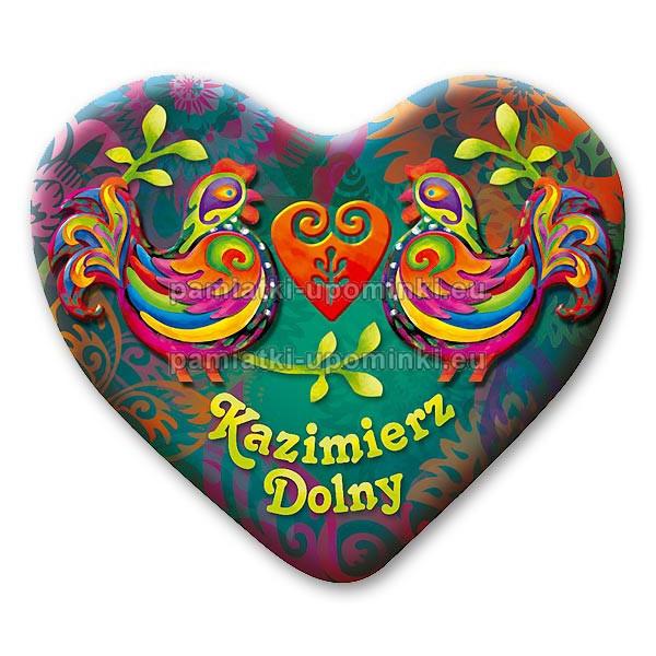 Magnes Kazimierz serce Koguty zielony