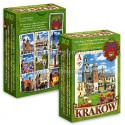 Karty do gry Kraków zielone
